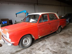 Ford Cortina MK1 1200 4d saloon LHD 1967 For Sale