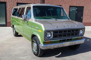 1978 two tone ford econoline club wagon For Sale