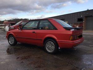 Ford Escort XR3i 1989 G MoT Nov 2019 Red For Sale