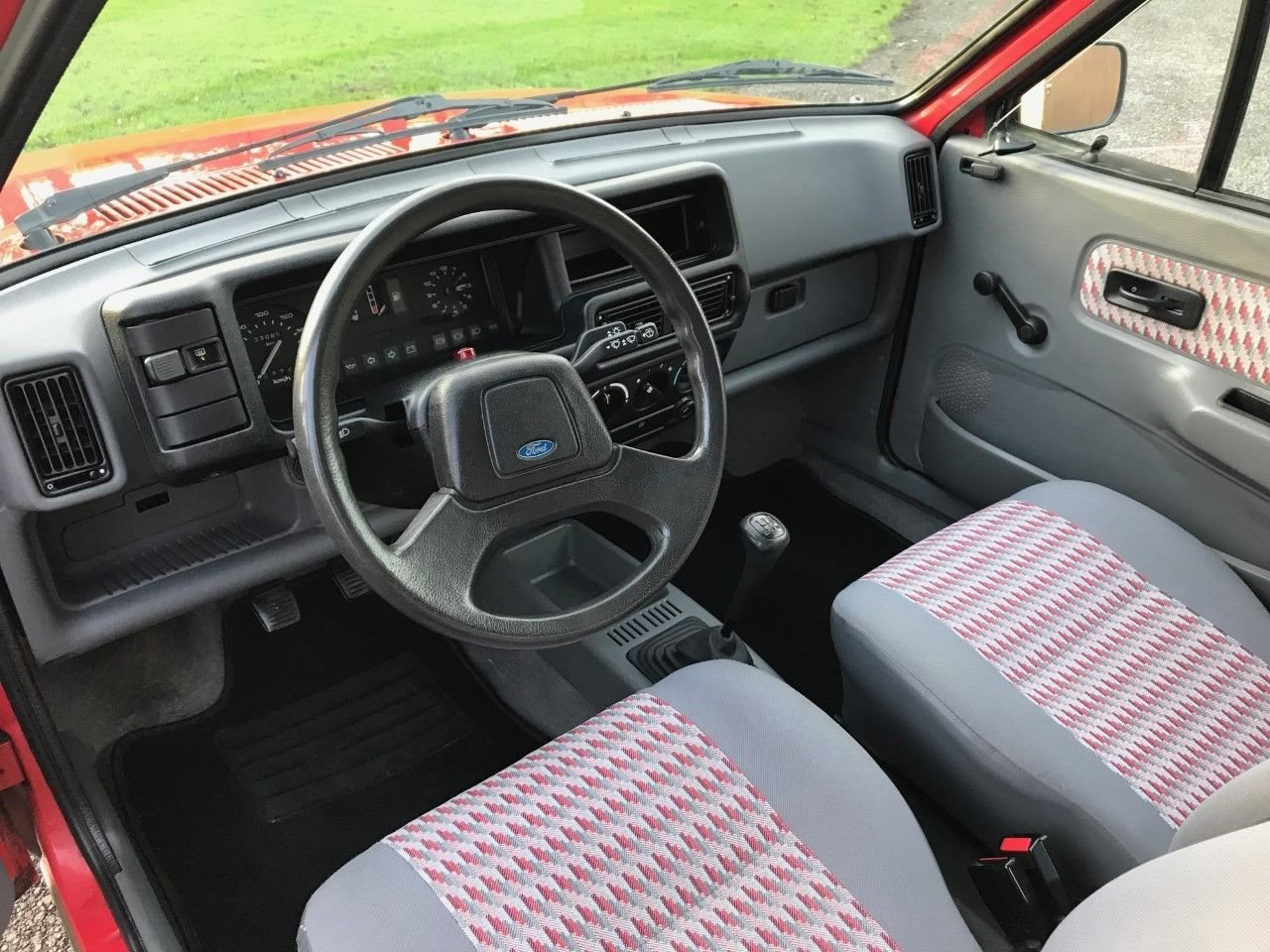 1988 FORD FIESTA MK2 IN RED L.H.D RUST FREE SIMPLY THE BEST! SOLD (picture 6 of 6)