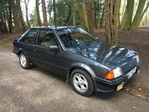 1983 Ford Escort XR3i LHD V5 MOT 150 photos For Sale