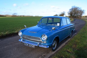1964 Ford Consul Cortina MK1 – Pre Air Flow 2Dr 4-Speed.