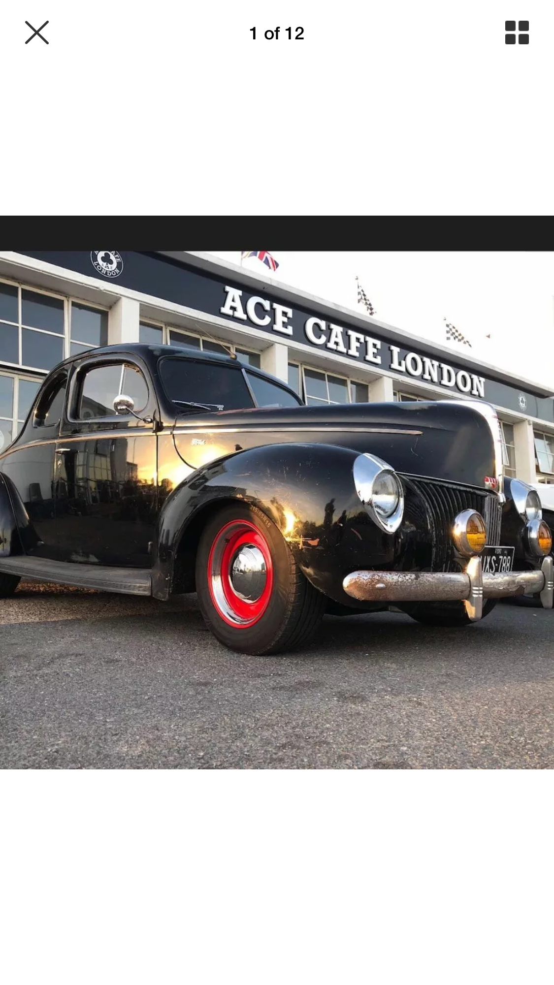 1940 Ford Coupe For Sale (picture 1 of 6)