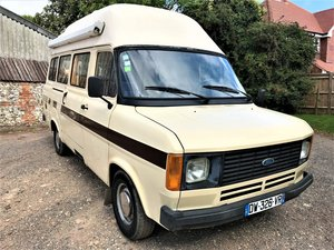 LHD 1985 Ford Transit 2.0 LWB classic camper+UK registered SOLD
