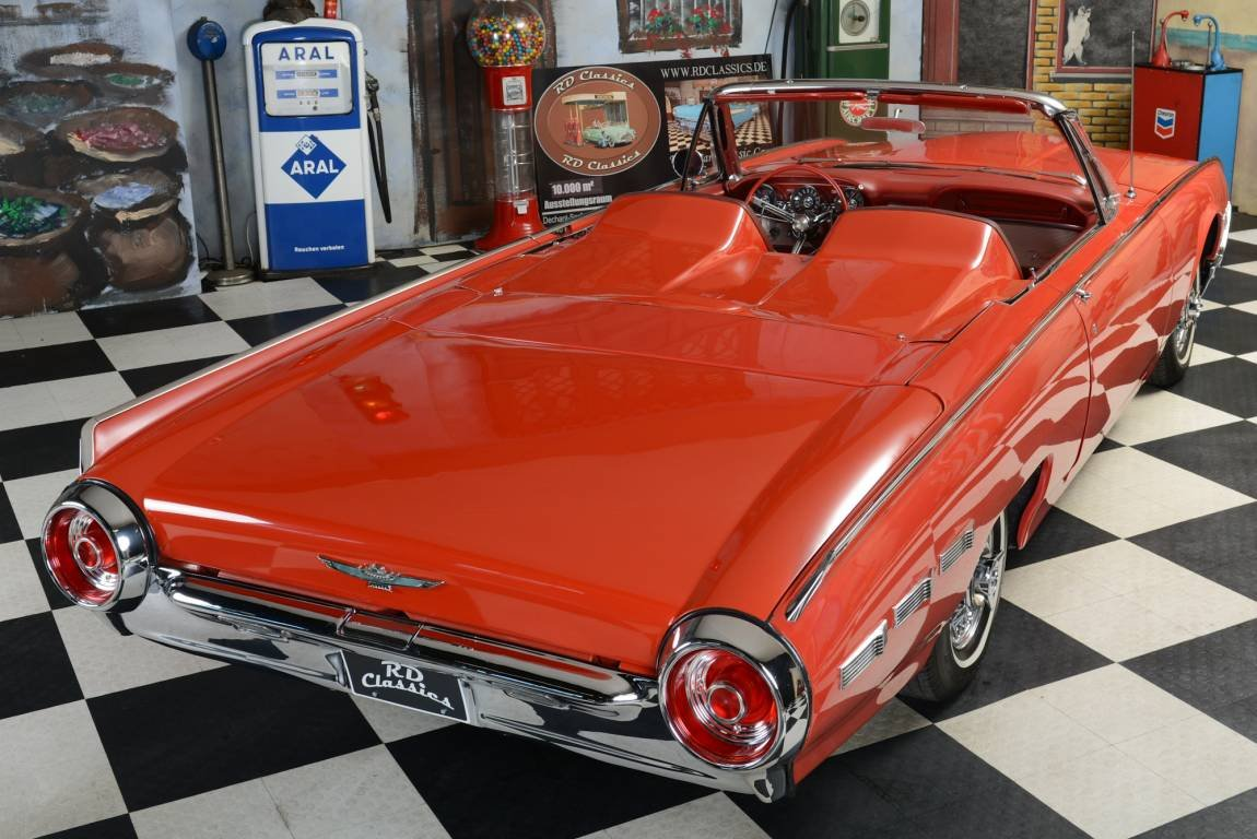 1962 Ford Thunderbird Original Sport Roadster For Sale (picture 1 of 6)