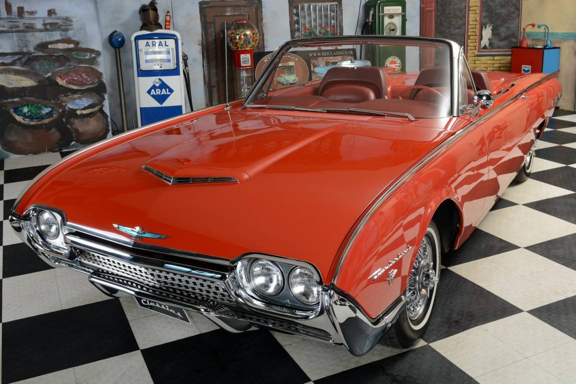 1962 Ford Thunderbird Original Sport Roadster For Sale (picture 2 of 6)