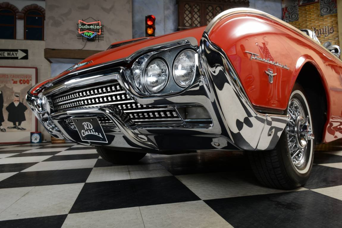 1962 Ford Thunderbird Original Sport Roadster For Sale (picture 3 of 6)
