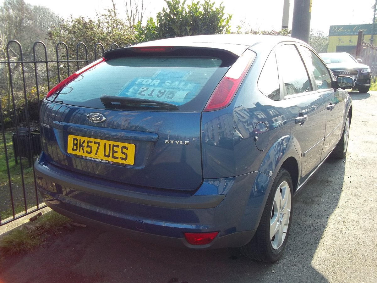 2007 Ford Focus 1.6 Style For Sale (picture 2 of 5)