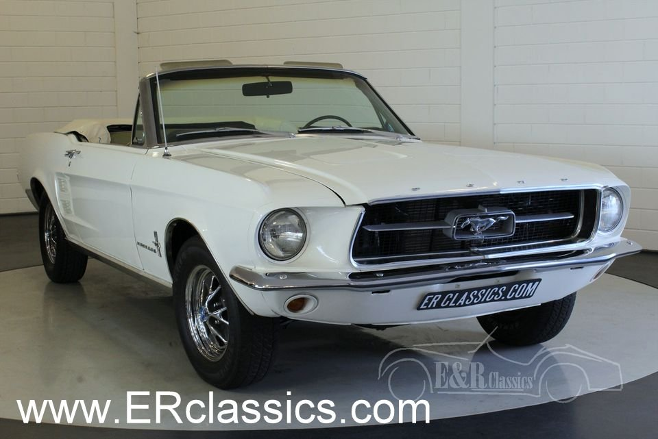 Ford Mustang cabriolet 1967 Powertop in good condition For Sale (picture 1 of 6)
