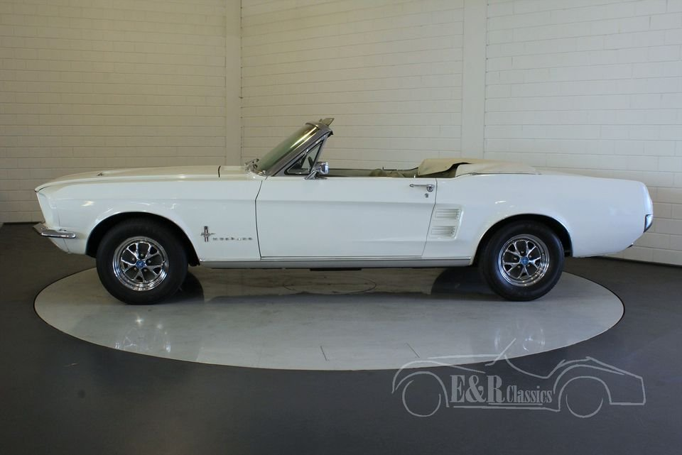 Ford Mustang cabriolet 1967 Powertop in good condition For Sale (picture 3 of 6)