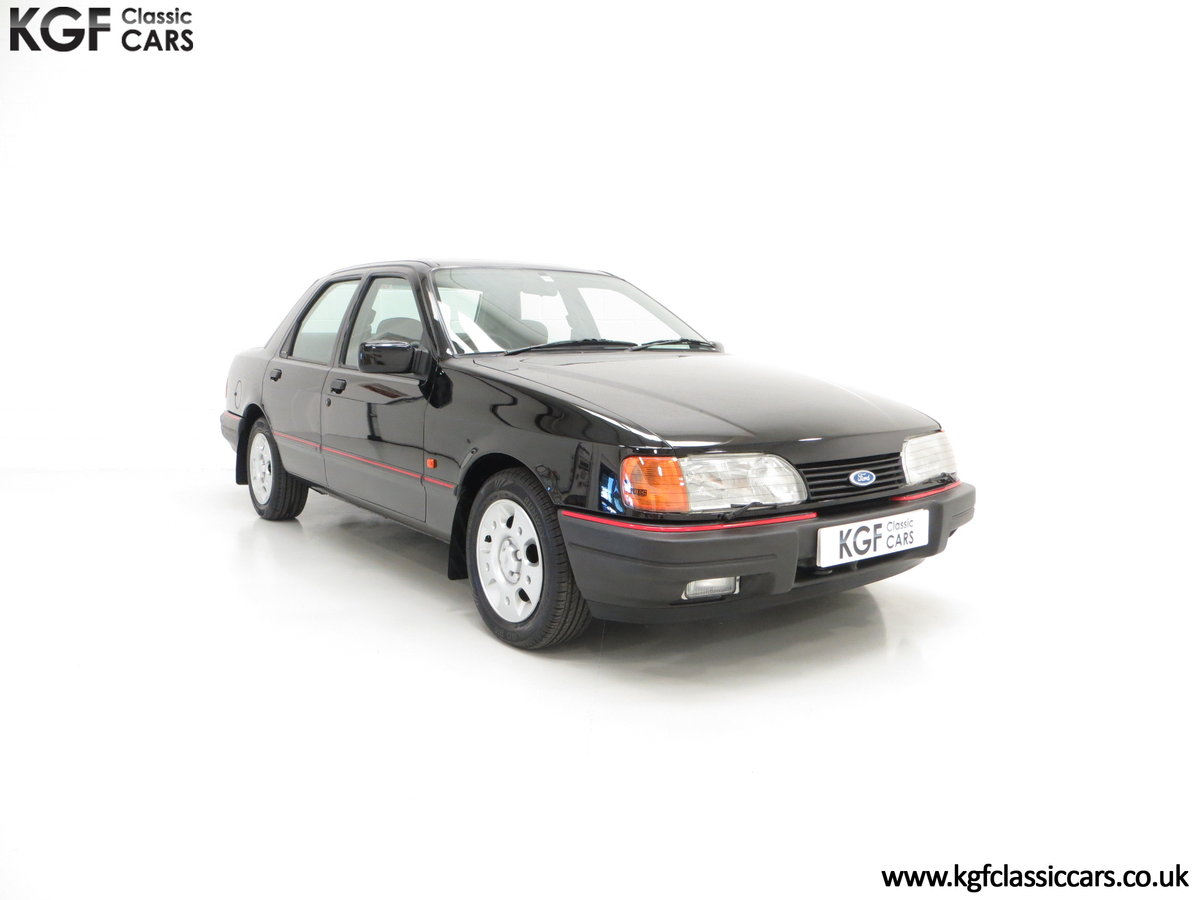 1989 A Ford Sierra Sapphire 2.0GLS, Just 43,081 Miles, Two Owners SOLD (picture 1 of 6)