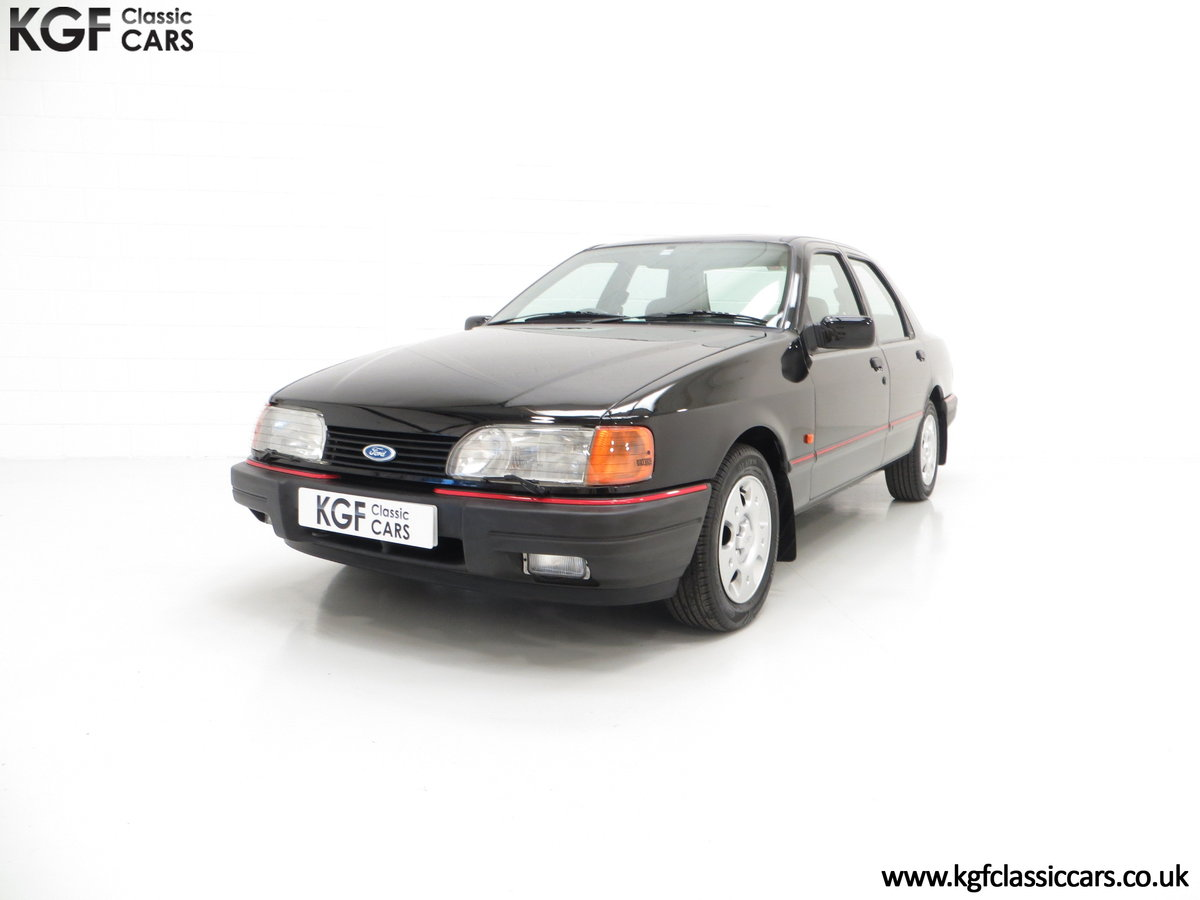 1989 A Ford Sierra Sapphire 2.0GLS, Just 43,081 Miles, Two Owners SOLD (picture 2 of 6)