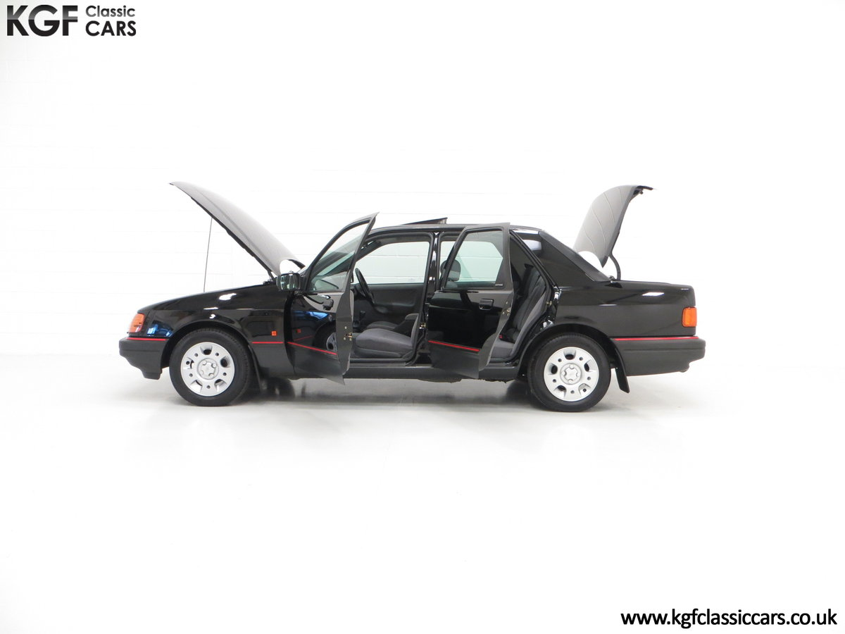 1989 A Ford Sierra Sapphire 2.0GLS, Just 43,081 Miles, Two Owners SOLD (picture 3 of 6)