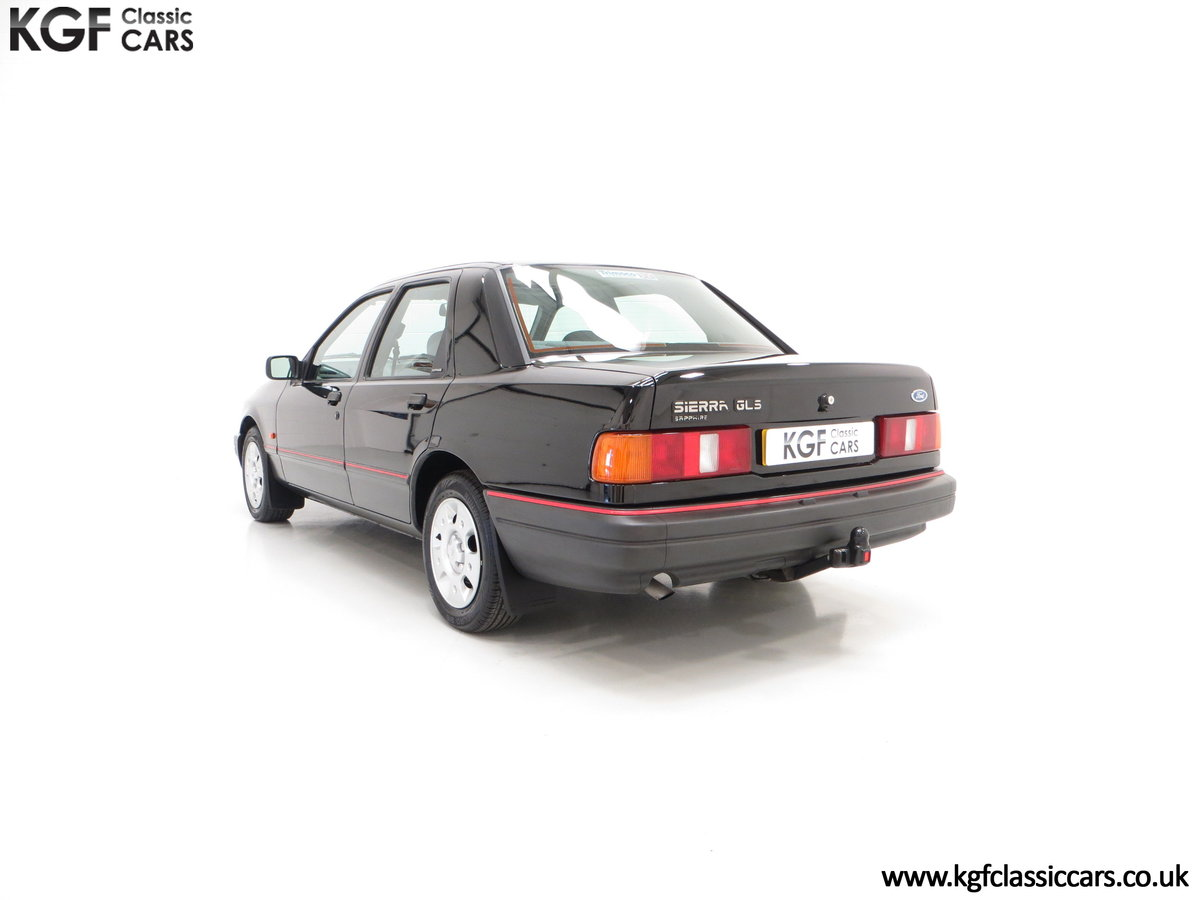 1989 A Ford Sierra Sapphire 2.0GLS, Just 43,081 Miles, Two Owners SOLD (picture 4 of 6)