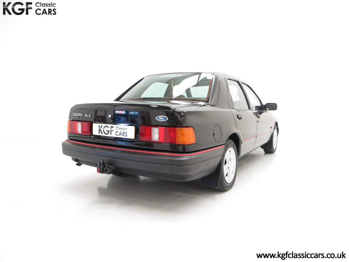 1989 A Ford Sierra Sapphire 2.0GLS, Just 43,081 Miles, Two Owners SOLD (picture 5 of 6)