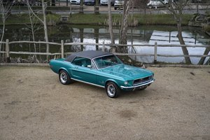 1968 68 Ford Mustang 289 V8 Manual For Sale
