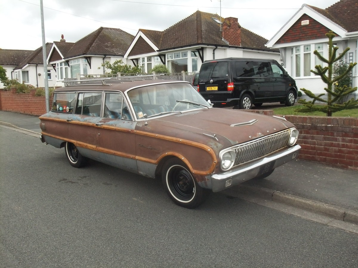 1962 Ford Falcon Squire, Surf Wagon, Woodie SOLD (picture 1 of 6)
