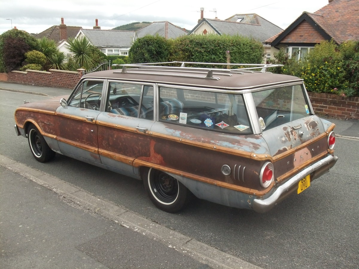 1962 Ford Falcon Squire, Surf Wagon, Woodie SOLD (picture 6 of 6)