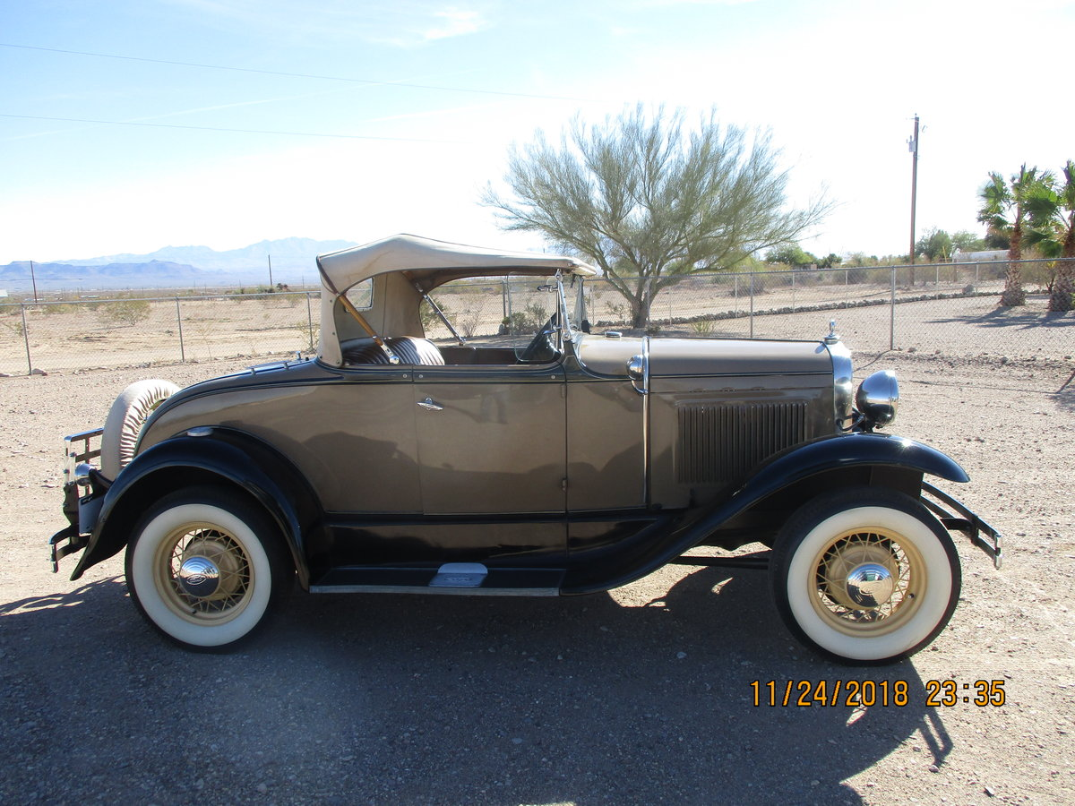 for sale 1930 ford model a roadster convertible For Sale (picture 1 of 6)