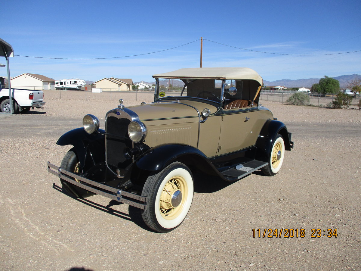 for sale 1930 ford model a roadster convertible For Sale (picture 2 of 6)