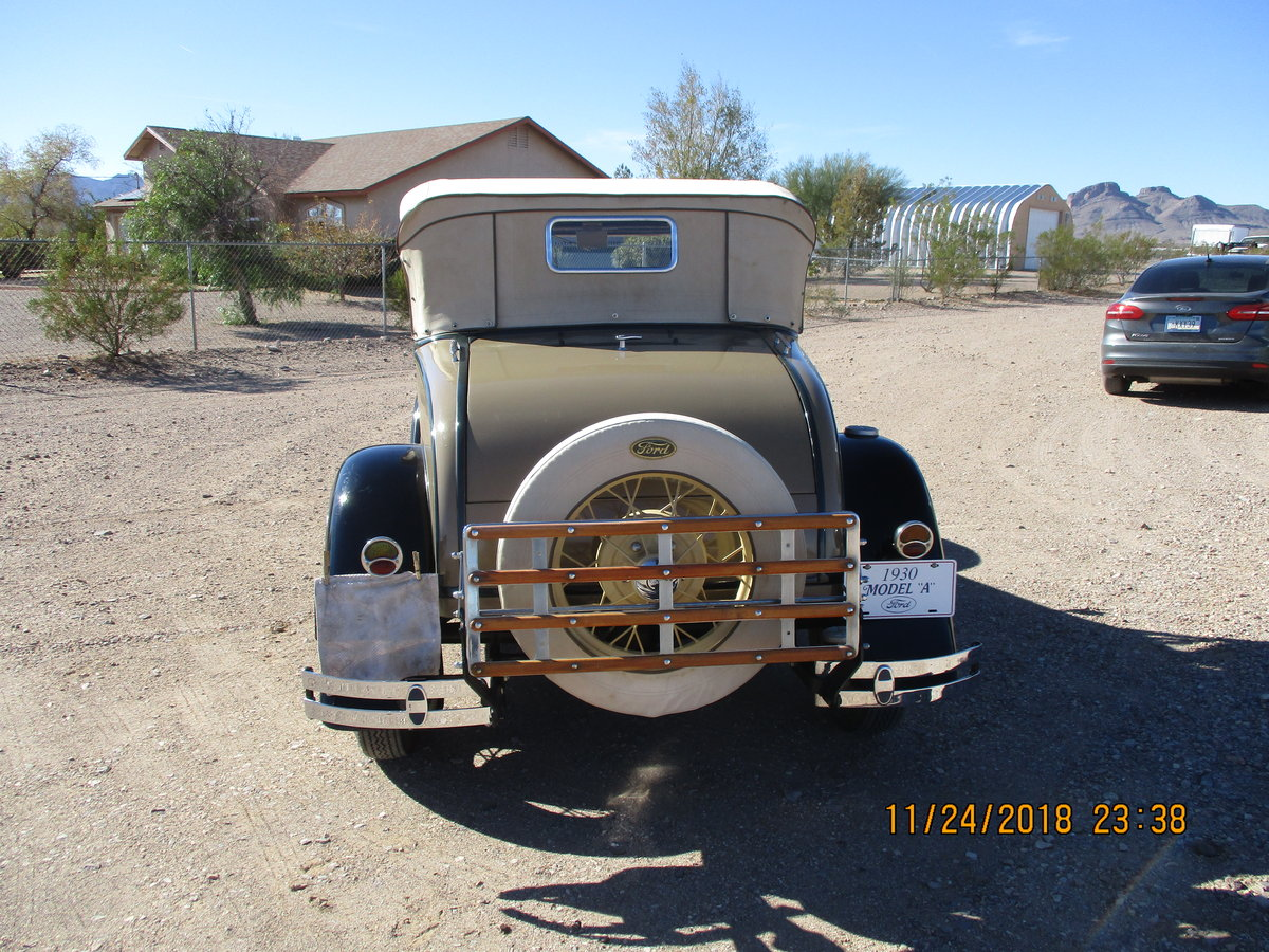 for sale 1930 ford model a roadster convertible For Sale (picture 4 of 6)