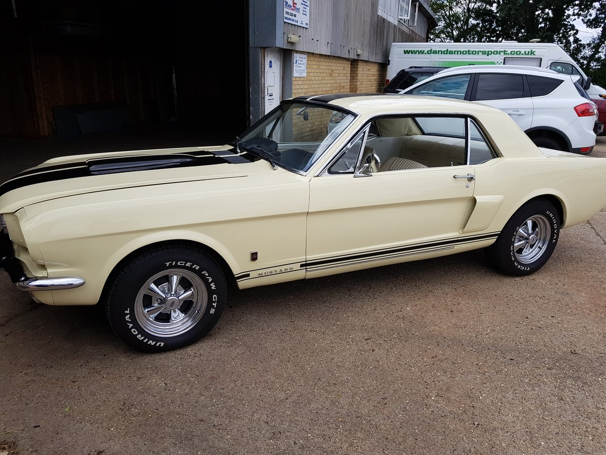 1965 A Code Mustang Coupe V8 and Manual trans For Sale (picture 1 of 6)