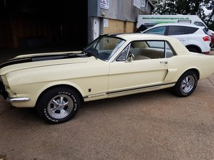 1965 A Code Mustang Coupe V8 and Manual trans For Sale