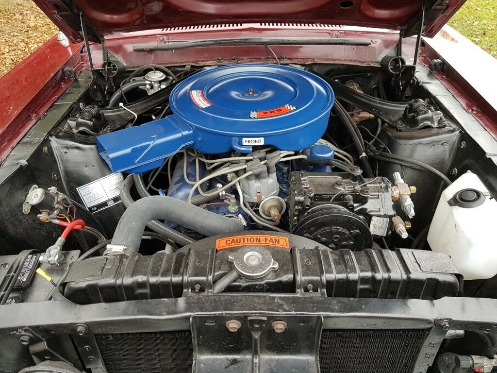 1968 Mustang Coupe, V8 and automatic For Sale (picture 3 of 6)