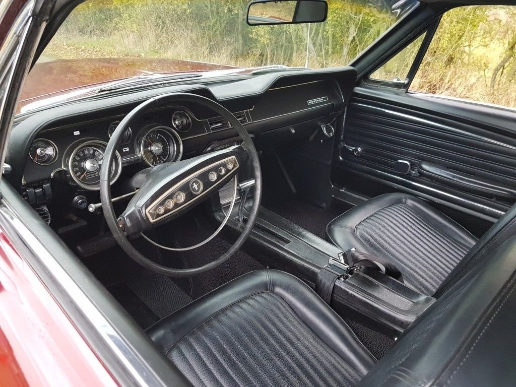 1968 Mustang Coupe, V8 and automatic For Sale (picture 5 of 6)