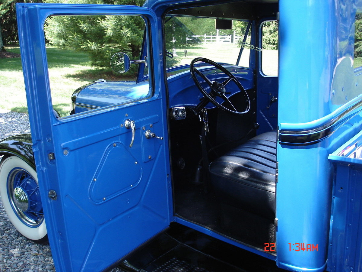 1934 34 Ford V8 Pick Up. Hot Rod. Good condition. For Sale (picture 5 of 6)