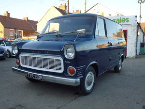 1973 Ford Transit Custom Owned By Jools Holland