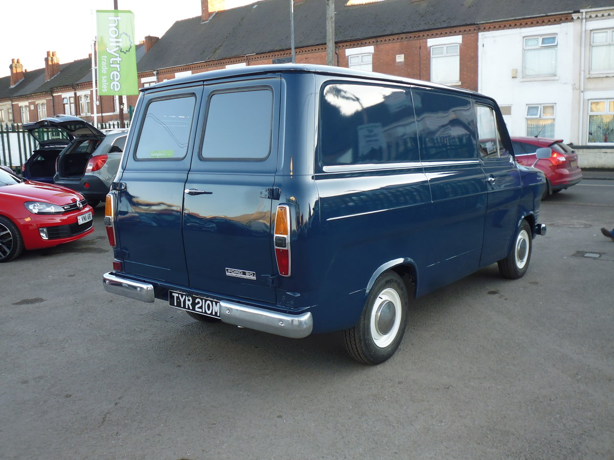 1973 Ford Transit Custom Owned By Jools Holland For Sale (picture 4 of 6)