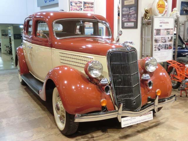 FORD 48 V8 FORDOR SEDAN DELUXE - 1935 For Sale (picture 1 of 6)