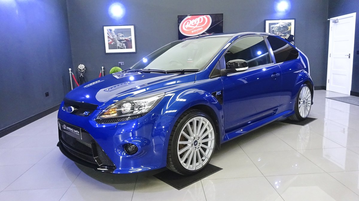 2010 Impeccable Ford Focus RS with Lux Packs 1 & 2, low mileage For Sale (picture 1 of 6)