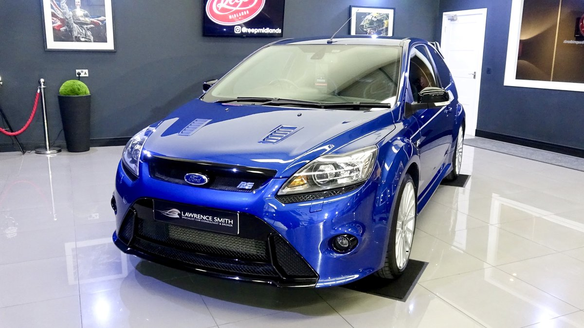 2010 Impeccable Ford Focus RS with Lux Packs 1 & 2, low mileage For Sale (picture 2 of 6)