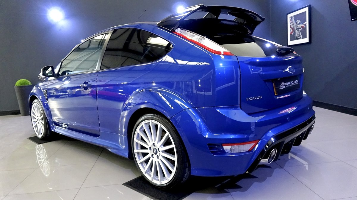 2010 Impeccable Ford Focus RS with Lux Packs 1 & 2, low mileage For Sale (picture 3 of 6)