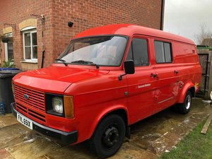 Ford Transit MK2 2.0 Pinto 1982 LHD For Sale