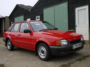 1988 FORD ESCORT 1.3 POPULAR - 36K MILES FROM NEW, FULL HISTORY ! SOLD