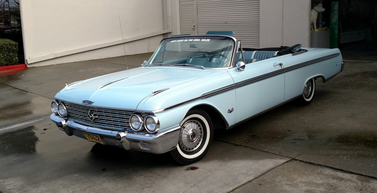 1962 EXCELLENT  CALIFORNIA CONVERTIBLE $29,995 SHIPPING INCLUDED  For Sale (picture 1 of 6)