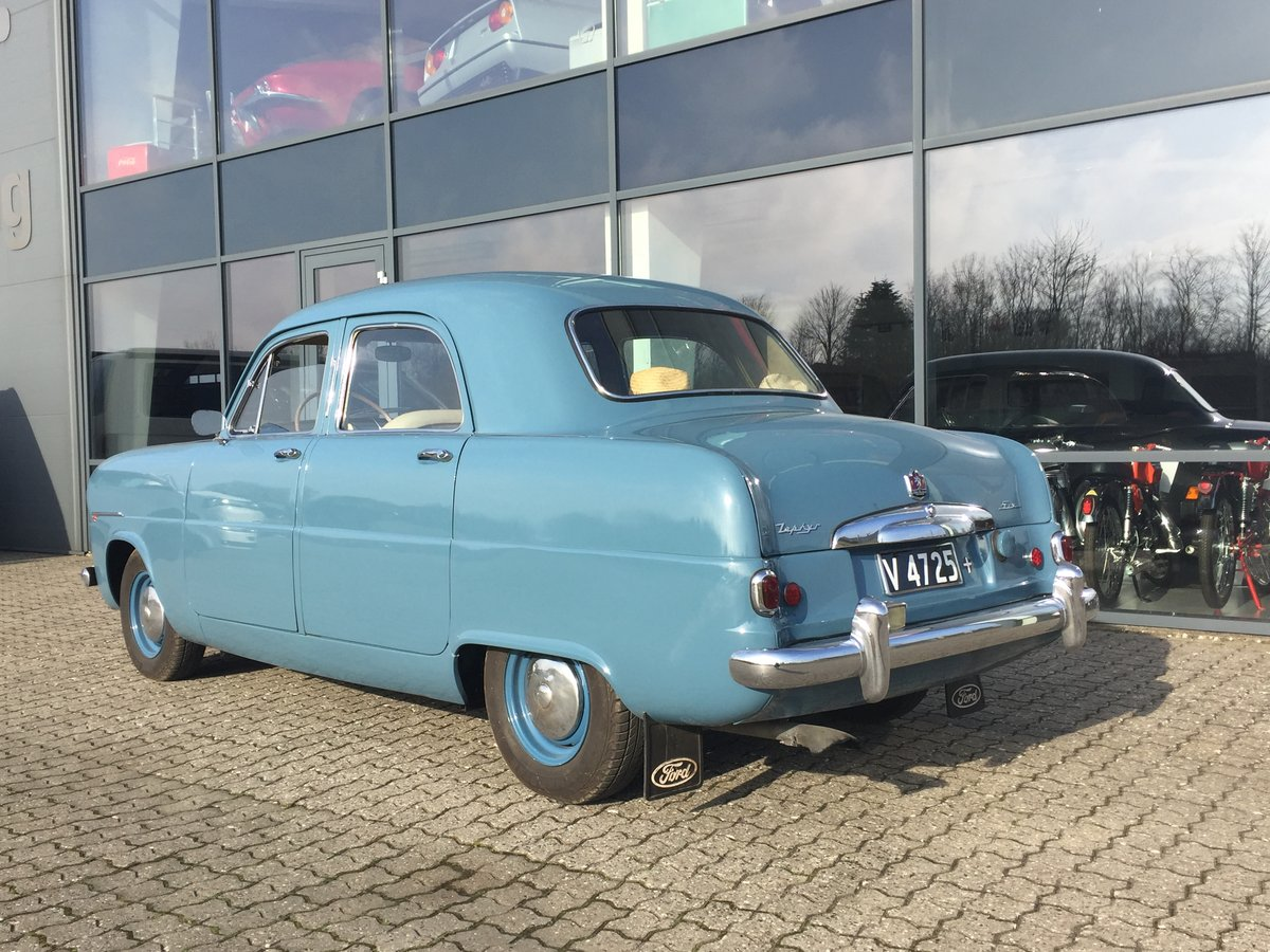 1953 Ford Zephyr 2,3 Six Saloon ONLY 48.0000 km For Sale (picture 2 of 6)