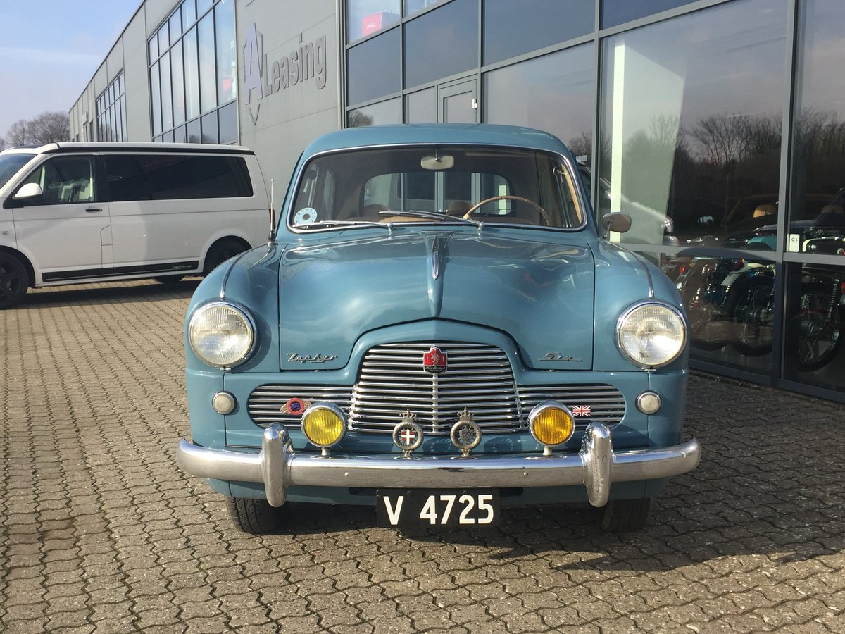 1953 Ford Zephyr 2,3 Six Saloon ONLY 48.0000 km For Sale (picture 3 of 6)