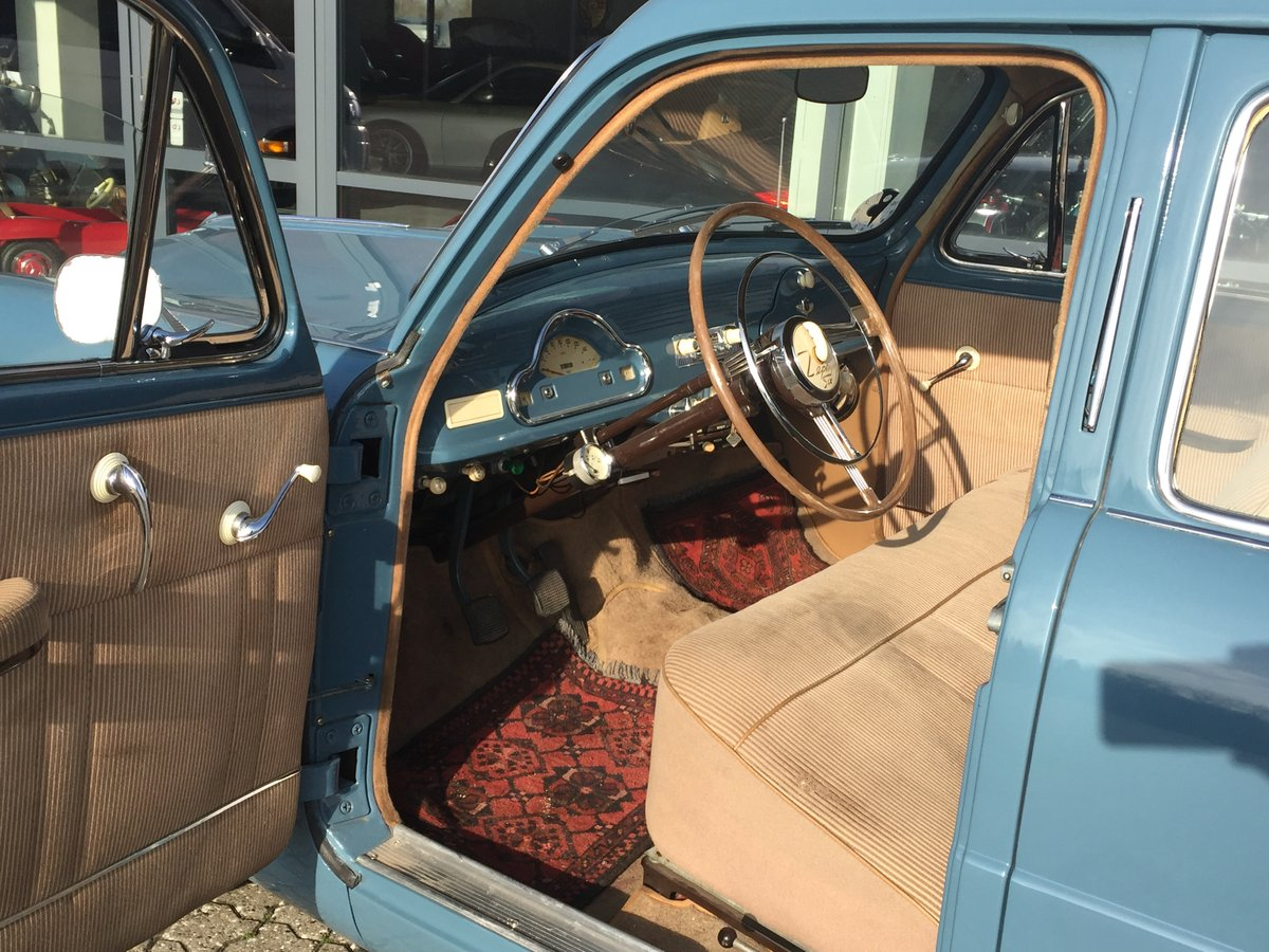 1953 Ford Zephyr 2,3 Six Saloon ONLY 48.0000 km For Sale (picture 4 of 6)