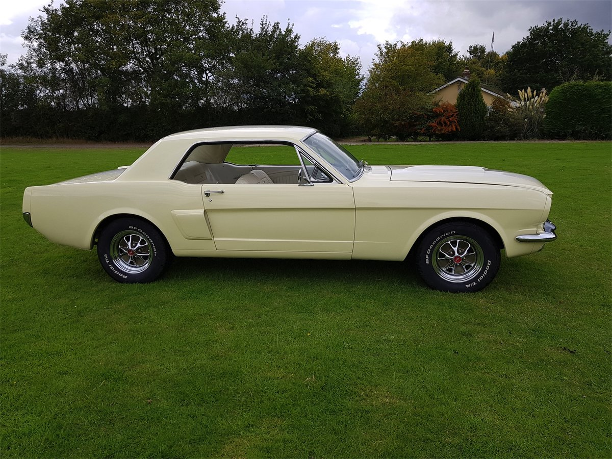 1965 A Code Mustang Coupe V8 and Manual trans For Sale (picture 3 of 6)