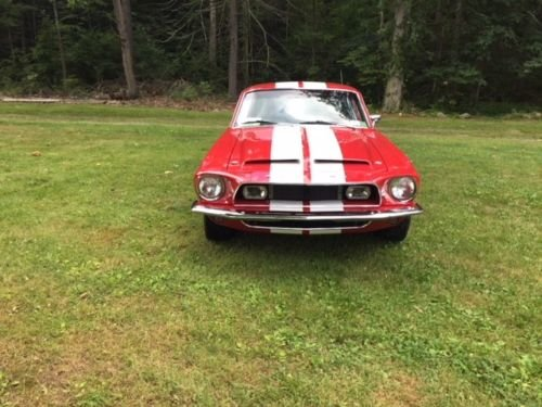1968 Mustang Fastback Shelby looks V8 and 5 speed  For Sale (picture 3 of 6)