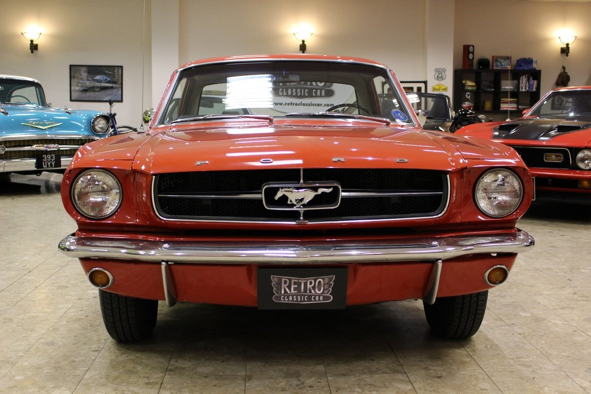 1965 ford mustang 170 straight six ford o matic for sale picture