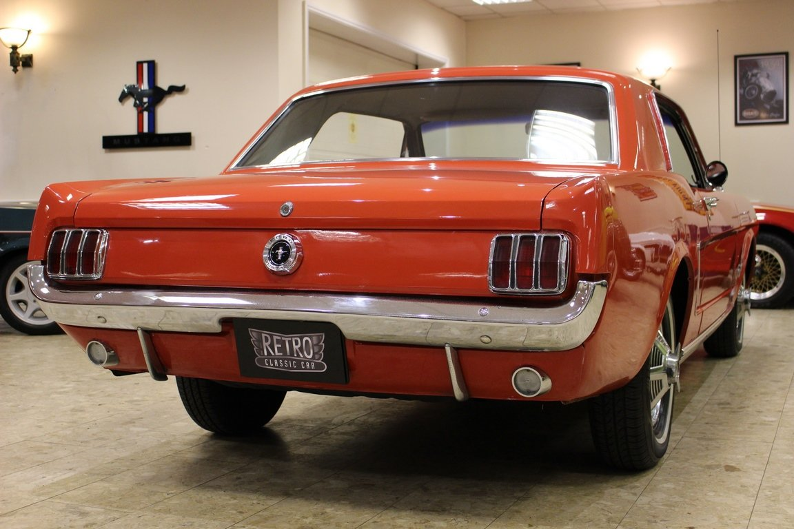 1965 1964 1/2 Ford Mustang 170 Coupe - Ford-O-Matic SOLD (picture 3 of 6)