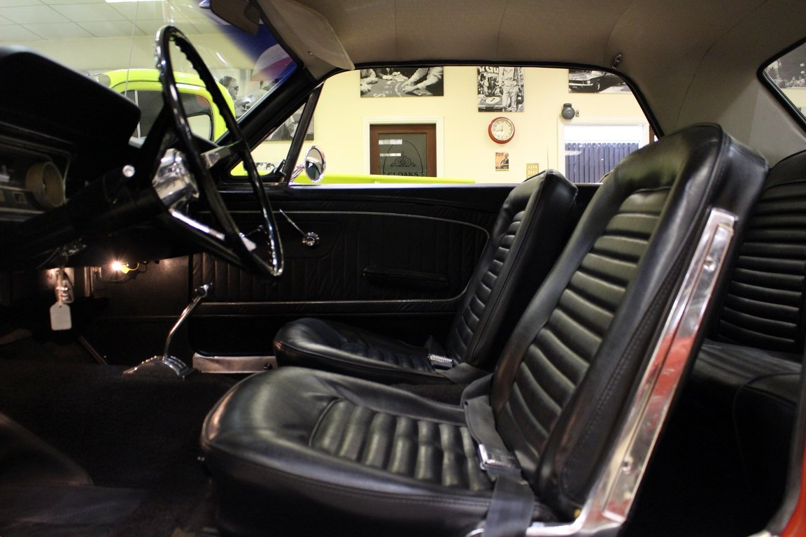 1965 1964 1/2 Ford Mustang 170 Coupe - Ford-O-Matic For Sale (picture 4 of 6)