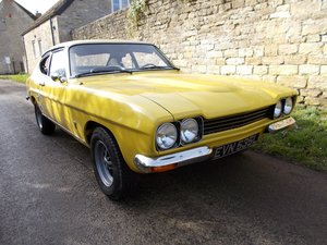 1973 Ford (Mercury) Capri Mk I 2600 For Sale by Auction