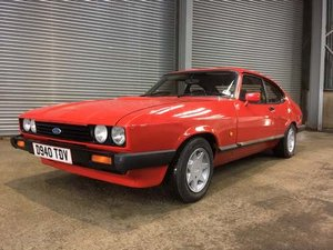 1987 Ford Capri Laser at Morris Leslie Auction 23rd February SOLD by Auction