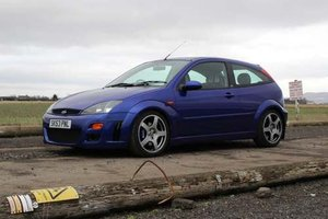 2003 Ford Focus RS at Morris Leslie Classic Aucton 25th May For Sale by Auction